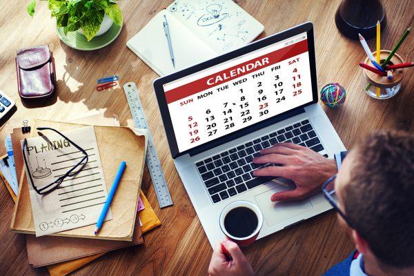 Calendar Contemporary Digital Device Concepts